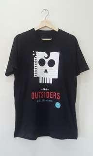 the OUTSIDERS tshirt