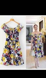 BNWT Yellow Floral Dress