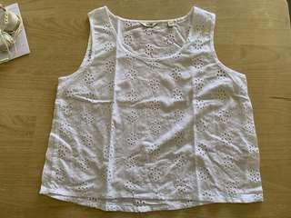 Jack Wills Stretford Cropped Embroidered T-shirt #Endgameyourexcess