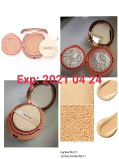 (No. 23) Laneige Layering Cover Cushion & Concealing Base 持久零瑕Cushion (Sand)