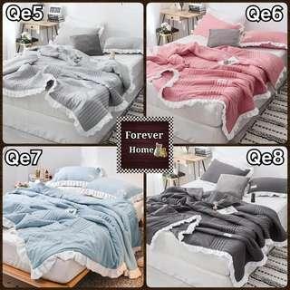日韓式水洗棉四季多用冷氣被(Qe5-Qe8)