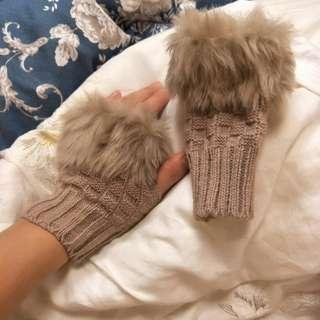 🚚 全新可愛毛手套