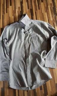 Long Sleeve Men Dress Size M