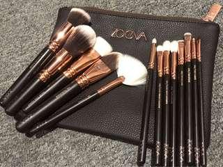 Zoeva rose gold complete set