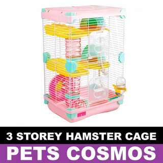3 Storey Hamster Cage