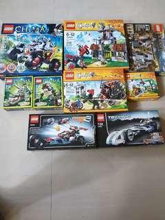 BUNDLE LEGO CASTLE TECHNIC CHIMA HOBBIT