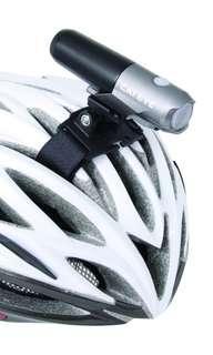 Cateye helmet front light mount