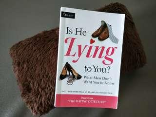 """🚚 Is He Lying To You by Dan Crum """"The Dating Detective"""" #ENDGAMEyourEXCESS #MRTBedok"""