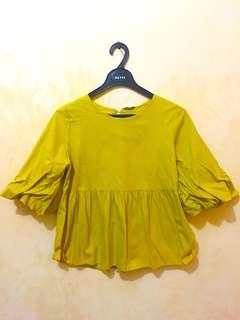 Yellow Blouse by Ada Woman