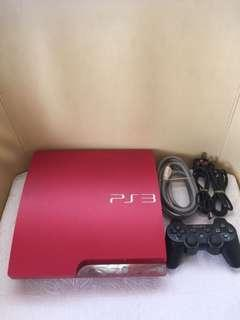 Ps3 Slim LIMited  Red Edition free 20 Games