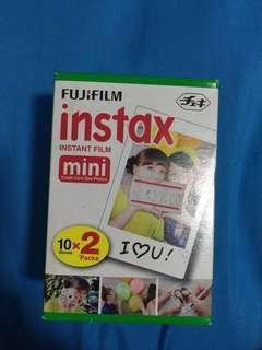 Expired fujifilm Instax Instant film