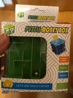 Money puzzle box 小錢箱