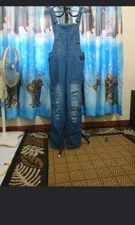 Overall Jeans/celana kodok