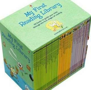 Best Price Usborne First Reading Library / Cheras