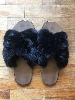 996d23fdb5a4 Fur Slippers