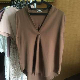 AVGAL Brown Top