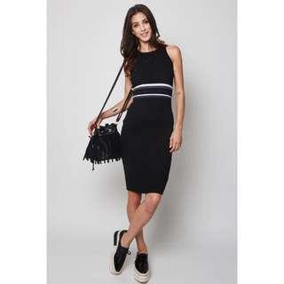 Mds Correa Dress in Black - Size S