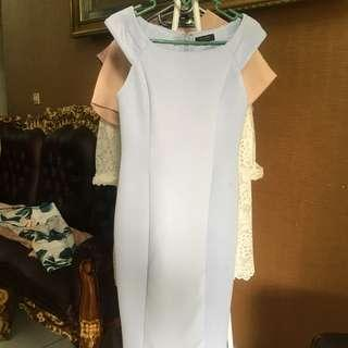 Zalora baby blue dress