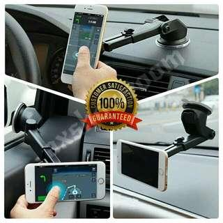 Telescopic Extendable Magnetic Dashboard / Windscreen Phone or GPS mount