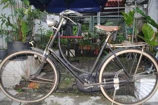 Jual BU [Langka] Sepeda Onthel Merk Gazelle Seri 2