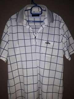 White Formal T-Shirt