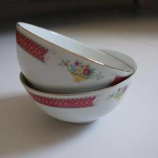 #Blessing Porcelain Bowls (used)