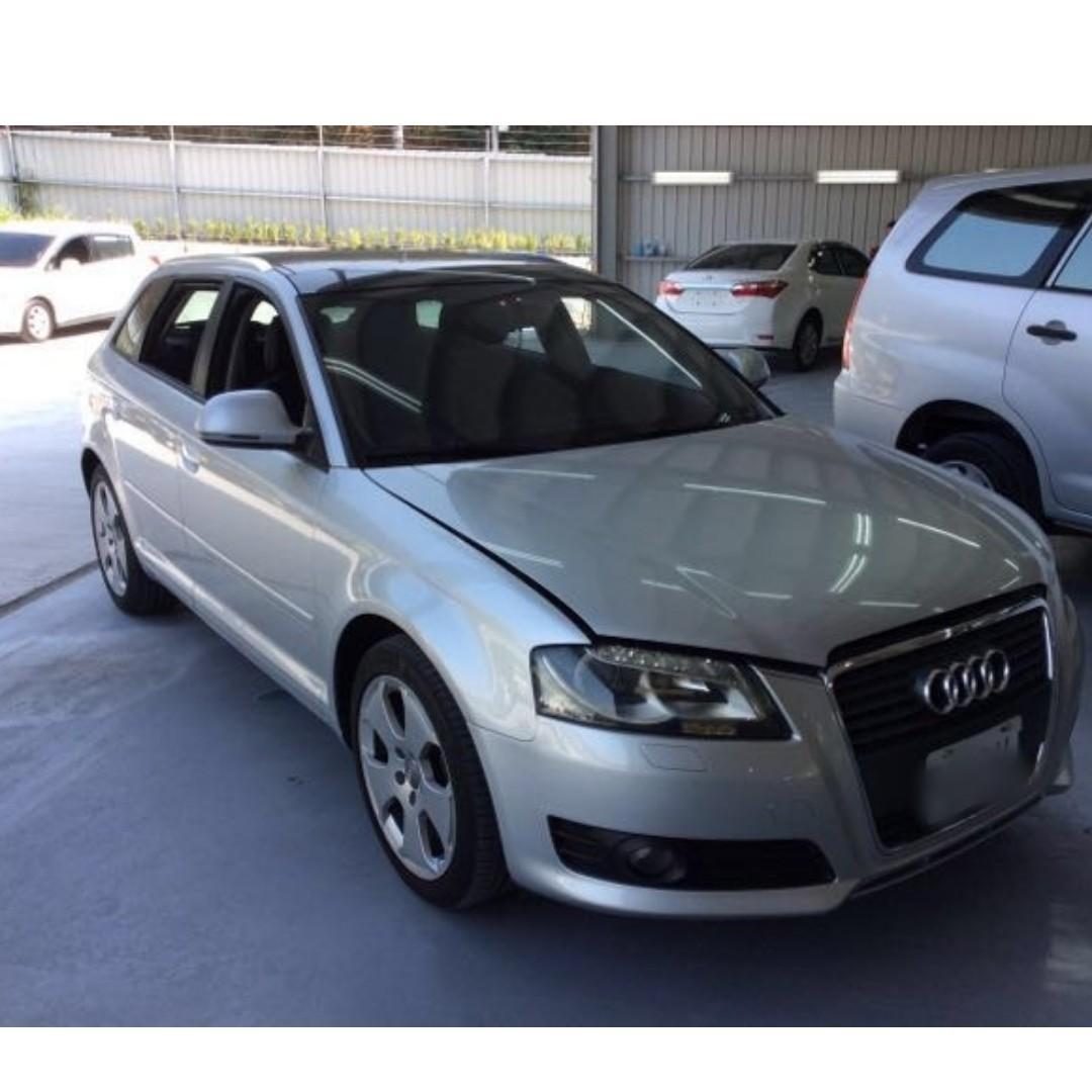 賣12.8萬 跑8萬多 2008年 Audi A4 需要其他照片可以加我LINE 或打電話來詢問 中古車 二手車 代步車