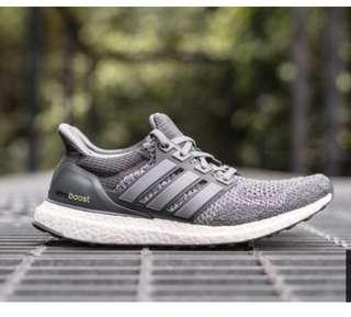 Adidas ultra boost 灰色 女款