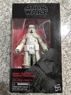 2 x Star Wars Black series 64 range trooper misb