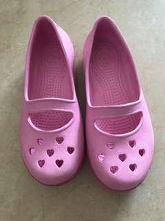 Pink girl Croc Shoes
