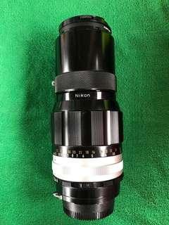 NIKON NIKKOR-Q Auto 200mm 1:4 鏡頭