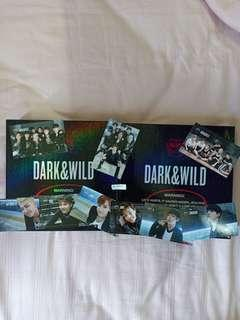 BTS DARK & WILD ALBUM