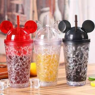 Mickey Mouse Clear Tumbler