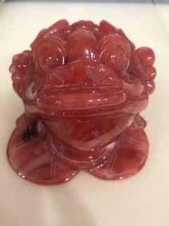Red Phantom 3-Legged Frog (红幽灵金蝉)