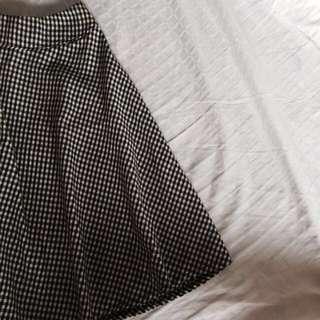 BM Gingham skirt