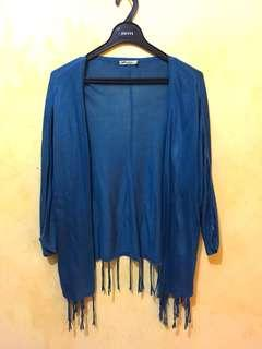 Blue Cardigan by Ada Woman