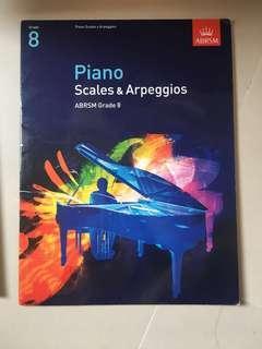 八級鋼琴Grade 8 Piano Scales