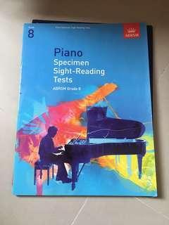 八級鋼琴 Grade 8 Piano Sight-reading