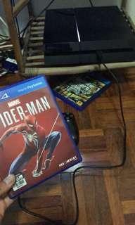 game spider man nak jual 130 atau tukar dngan red dead 2