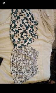 2x sportsgirl skirts both for 15