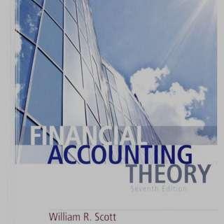 🚚 Financial Accounting Theory Scott 7 ed