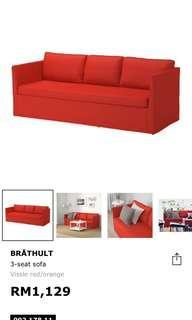 IKEA 3 seat sofa (new)