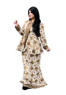 Batik Mardhiah - White Chanteq