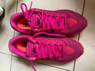 Nike airmax tailwind 7 pink running shoes