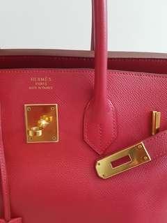 Authentic Hermes Birkin 35