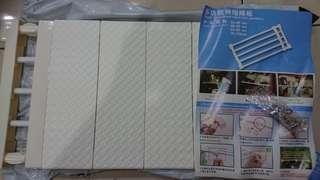(全新)多功能伸縮隔板(大尺寸46~75cm)