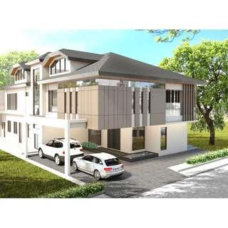 House and Lot with SWIMMING POOL For Sale Quezon City QC with ELEVATOR 8 BEDROOMS Brand New SINGLE DETACHED MANSION Congressional Avenue Near Visayas Avenue Mindanao Avenue with GARDEN
