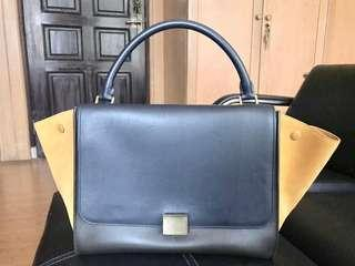 Celine Trapeze Long Strap Medium