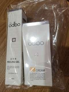The odbo peeling gel $35 and bb cream $40