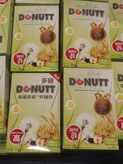 [泰國直送] Donutt高纖酵素飲品 一盒10包